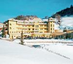 Rakouský hotel Ferienschlössl v zimě