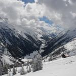 Gaislachkogel - pohled na okolní krajinu